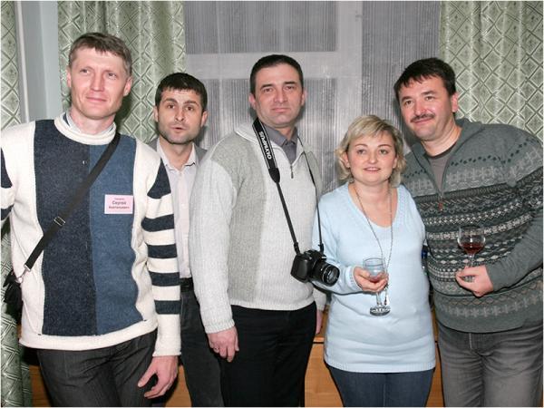 Сидоряка, Киушкин, Токарев, Красохина, Хисамутдинов